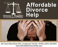 Uncontested divorces starting at $300. Nicholas Waggoner | www.affordabledivorcehelp.com | (407) 339-8433 | nicholaswaggoner.com | twitter.com/NCWaggoner | plus.google.com/u/0/105652893257452551022/posts