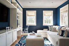 Shingle style house with beach chic interiors on Nantucket island