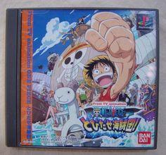 #PS1 Japanese #OnePiece One Piece: Tobidase Kaizokudan! SLPS-03252 http://www.japanstuff.biz/