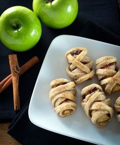 "Apple Pecan ""Mummy"" Dumplings"