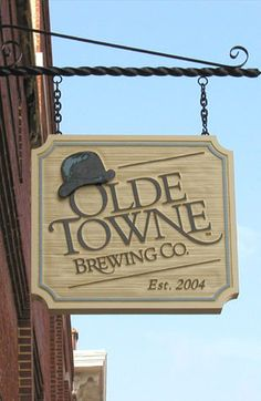 Image from http://www.vgroovesigns.com/images/sandblasted_signs_Old_Towne_Brew.jpg.