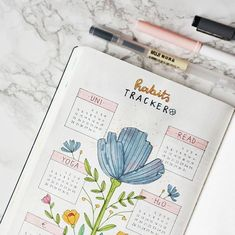 The purpose of having a habit tracker in your bullet journal is to keep you motivated. We often set goals with big intentions but never seem to keep up. Instead of focusing achieving bigger goals right away, it's more manageable if we try to establish daily habits that help us get closer to those goals. …