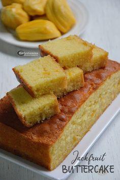 Jackfruit Cake, Ripe Jackfruit, Jackfruit Recipes, Bread Recipes, Cake Recipes, Dessert Recipes, Cooking Recipes, Juicy Fruit Gum, Resep Cake