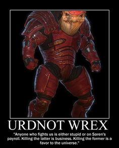 mass effect wrex | Mass Effect 1 - Huge Krogan pack (including Wrex!)