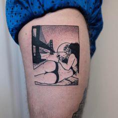 Sad Amish tattoo