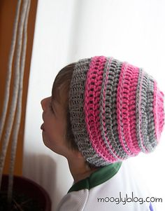 Ravelry: Sweet Striped Crochet Hat pattern by Tamara Kelly