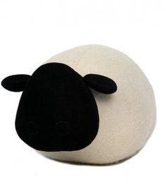 Cale-porte Molly le mouton écru - Monica Richards
