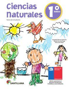 Ciencias Naturales 1º Básico, primaria.  Gobierno de Chile, distribución…