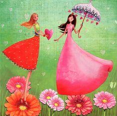 Girl Color Fantastic ~ The Magic World of Dreams