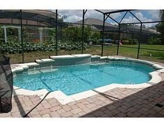Pool Designs Florida interior unique small pool ideas with rectangular pool design and wooden hedge also bay window your We Love That So Many Florida Homes Have Pools This One Is In An