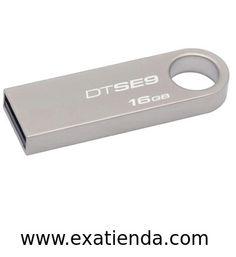 Ya disponible Memoria USB 2.0 Kingston 16gb   (por sólo 16.99 € IVA incluído):   -Capacidad: 16 GB -Interface: USB 2.0 -Velocidad lectura: 10MB/s -Velocidad escritura: 5MB/s -Otros:-  -P/N:DTSE9H/16GB  Garantía de 24 meses.  http://www.exabyteinformatica.com/tienda/3328-memoria-usb-2-0-kingston-16gb #memoria #exabyteinformatica