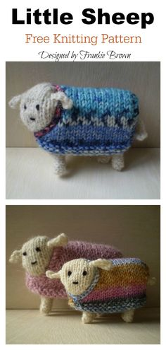knitted doll patterns This Little Sheep Free Knitting Pattern is very simple, quick and perfect pattern for beginners. The pattern is a special knitted Easter craft idea that your kids will love. Knitted Doll Patterns, Animal Knitting Patterns, Knitted Dolls, Crochet Patterns, Easy Knitting, Knitting Yarn, Knitting For Charity, Knitting Machine, Knitting Stitches