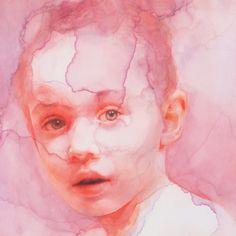 """""""Looking through to you"""" 11 x 14 inches   Watercolor by Ali Cavanaugh"""