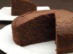 Bizcocho de chocolate al vino tinto - MisThermorecetas