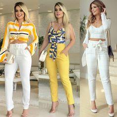 The elegance and femininity of high waisted pants! Fashion Pants, Boho Fashion, Fashion Outfits, Estilo Fashion, Woman Fashion, Classy Outfits, Trendy Outfits, Summer Outfits, Trendy Dresses
