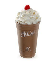 McCafe Chocolate Shake <3