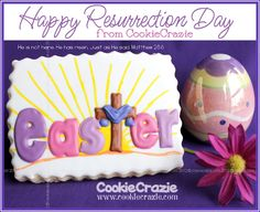 Happy Resurrection Day   from CookieCrazie  www.cookiecrazie.com