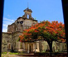 The old hospital in Granada, Nicaragua
