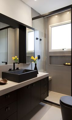 E nóbrega bathroom layout, modern bathroom, bathroom interior, small bathro Bathroom Layout, Bathroom Interior Design, Interior Design Living Room, Interior Decorating, Tiny House Bathroom, Modern Bathroom, Small Bathroom, Elegant Homes, Dream Decor