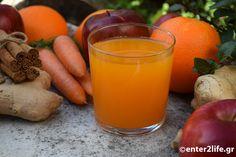 Φυσικός Χυμός αποτοξίνωσης με καρότο, μήλο, πορτοκάλι και πιπερόριζα – enter2life.gr