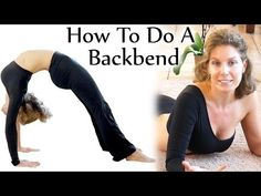 ▶ Backbend Stretches! Beginners Yoga Flexibility Challenge, Tutorial, How To Do A Backbend - YouTube