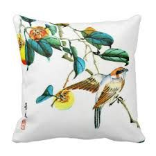 bird cushions - Google Search