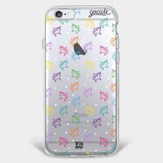Capinha para celular Love Unicorn