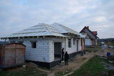 Ciąg dalszy budowy domu Czaruś z MG Projekt.  #mgprojekt #projekt #budowa #dach