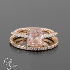 Hey, I found this really awesome Etsy listing at https://www.etsy.com/listing/162337029/2-carat-padparadscha-sapphire-engagement