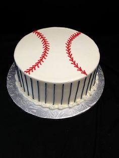 Buttercream Baseball Cake  Jo's Custom Cakes and Catering