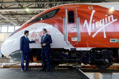 David Cameron visits the Virgin Azuma | Virgin
