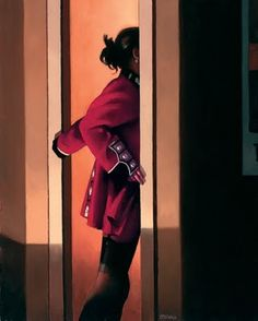 Jack Vettriano again. His work has a certain tenseness I like.