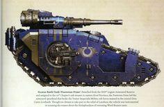 Ultramarine legion Sicaran battle tank