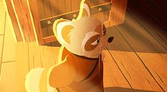 Master shifu is pleased with his students progresses in their training