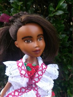 The Very Ruffly Doll by Mirthitude ooak makeunder  by Mirthitude