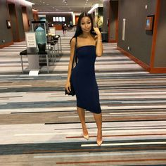 I say she's a keeper if she got it on her own and keeps it running, if she can keep it all running 👑 - 🏆 Dressy Outfits, Cool Outfits, Fashion Outfits, Women's Fashion, Teaira Walker, Instagram Baddie Outfit, Fashion Killa, Evening Gowns, Night Out