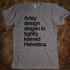 Artsy design shirt name.