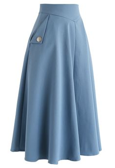 Skirt Outfits Modest, Midi Skirt Outfit, Outfits Casual, Modest Dresses, Boho Outfits, Vintage Outfits, Midi Skirts, Blue Skirts, Maxi Dresses