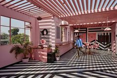 The Pink Zebra  / Renesa Architecture Design Interiors