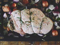 bronze turkey food photography