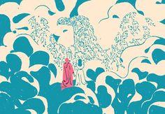 An illustrated childrens adaptation of the Divine Comedy. Dante Alighieri, Art And Illustration, Good Ol, Types Of Art, Fashion Prints, Art Direction, Childrens Books, Illustrators, Behance