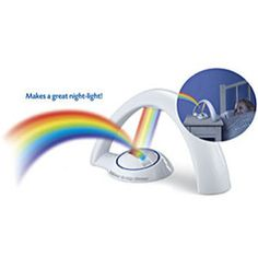Uncle Milton's Rainbow in My Room (starting at $19) is a fun nightlight turned rainbow.