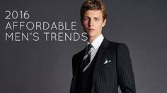 Affordable men's fashion trends in 2016 by robinsonsshoes.com