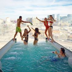 Wishing you were here? This user posted a photo overlooking the pool outside the Playboy Suite of the Palms Casino Hotel in Las Vegas Wintry Weather, Penthouse For Sale, Daddy, Spoiled Kids, Bizarre Pictures, Rich Kids Of Instagram, Las Vegas Homes, Luxury Girl, Casino Hotel