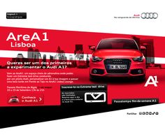 Audi AreA1 Lisboa by Julgai Reuz, via Behance
