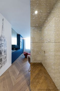 City Apartment created and photographed by City Apartment, Design Studio, Selfies, Tile Floor, Divider, Flooring, Room, Furniture, Home Decor