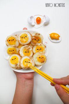 Gudetama quail eggs
