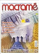 журнал полотенца с бахромой из макраме