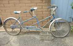 Lot #159 - Cool Vintage SCHWINN Tandem Bike http://www.uksportsoutdoors.com/product/best-carbon-road-bike-700c-38mm-clincher-wheelset-11s-t700-t800-carbon-fiber-frame-shimano-105-groupset-5800-racing-bicycle/
