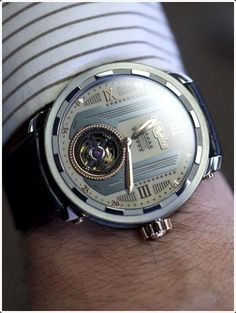 Enhance your look with such a cool #watch.